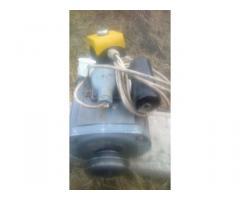 Felújított villanymotor