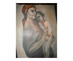 Festmény Madonna gyermekkel