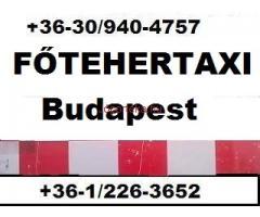 FŐ-TEHERTAXI, fuvarozás, szállítás Budapest