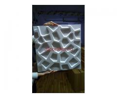 3D falpanel, faldekoráció