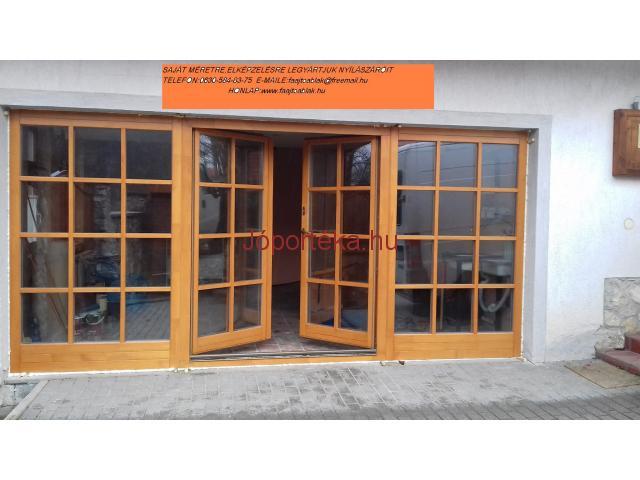 Fa ablakok,erkély ajtók,bejárati ajtók gyártása!