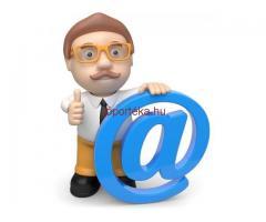 Email/telefon adatbázisok