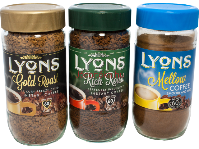 Instant Coffee LYONS , origin UK, since 1894