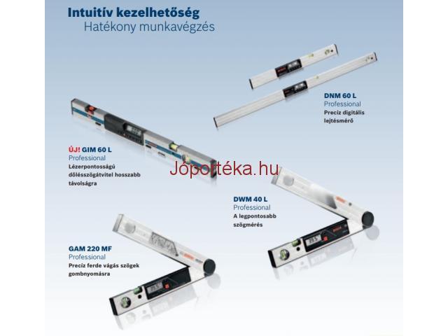 Bosch szögmérők