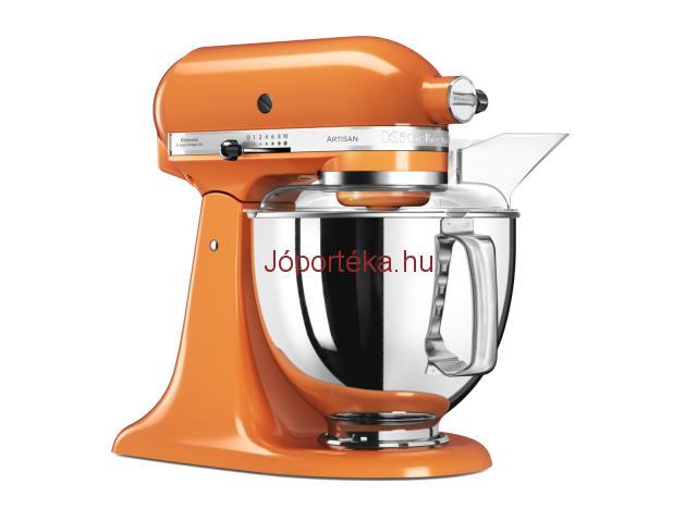 KitchenAid Artisan 2017 5KSM175PSETG konyhai robotgép narancssárga színben (csak) Fideszeseknek!