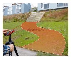 A csúcson:Leica Disto lézeres távolságmérő