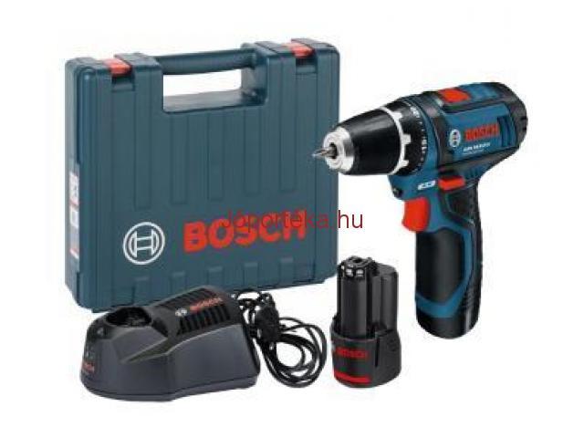 Bosch akkus fúrócsavarozó