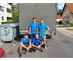 Költöztetés Budapesten