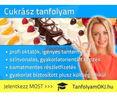 Cukrász OKJ-s tanfolyam Budapesten