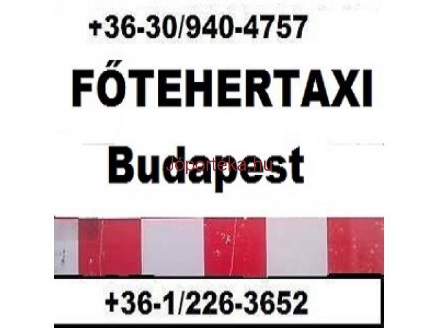 Költöztetés, bútorszállítás, fuvarozás Budapest FŐ TEHERTAXI 0630 940 47 57