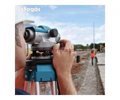 Bosch GOL 26D optikai szintezőcsomag állvánnyal és léccel