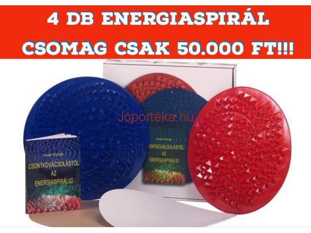 4 db Energiaspirál csomag