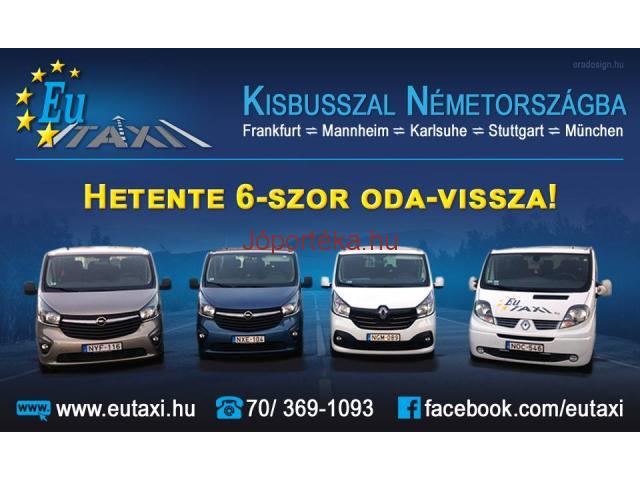 Utazzon kisbusszal Németországba Velünk!