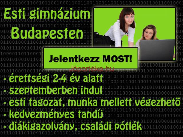 Érettségi felkészítő Budapesten, 2 év alatt.