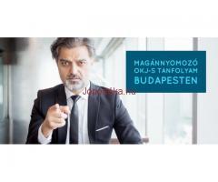 Magánnyomozó OKJ-s tanfolyam Budapesten