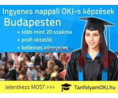 Ingyenes nappali OKJ-s tanfolyamok Budapesten