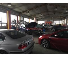 Autószerelő fényező és lakatos műhely
