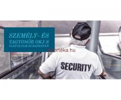 Személy- és Vagyonőr OKJ-s tanfolyam Budapesten