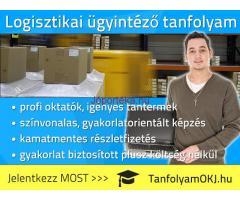 Logisztikai ügyintéző OKJ-s tanfolyam Budapesten