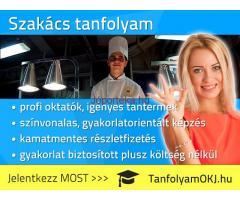 Szakács OKJ-s tanfolyam Budapesten