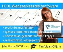 ECDL WEBSZERKESZTÉS tanfolyam Budapesten