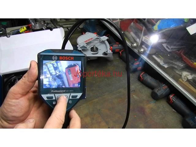 Bosch akkus vizsgálókamera