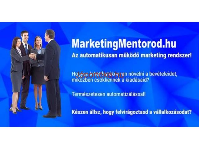 Az automatikusan müködő marketing rendszer!