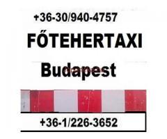 FŐ-TEHERTAXI, teherfuvarozó Budapesten, költöztető kis tranzit