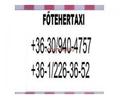 Azonnali fuvarozás,kis költöztetés FŐ TEHERTAXI 0630 940 47 57