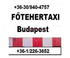 FŐ TEHERTAXI bútorszállító furgon azonnali fuvarozás, költöztető kisteherautó 0630 940 47 57
