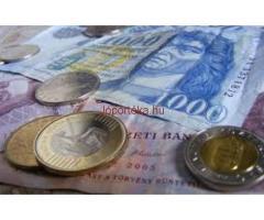 Hitel- és befektetési ajánlat