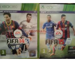 Xbox 360 FIFA, PES, VB
