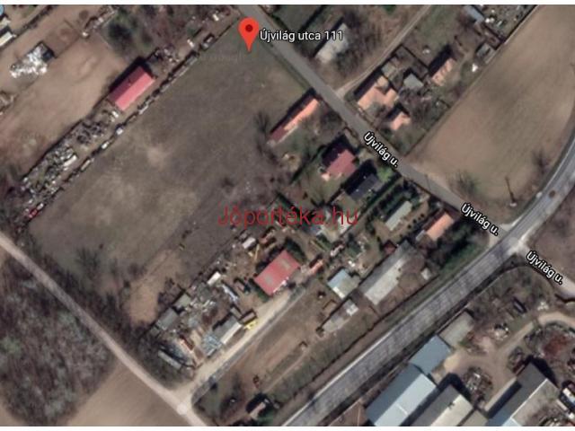 Budapestől 5 km-re,Gyálon Új parcellázású telken 1000 m2 -es építési telkek eladók.