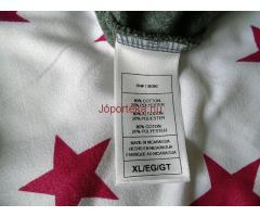 Szürke rögbis pulóver XL