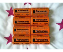 Panasonic akku 1,2V