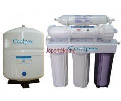 Fordított ozmózis víztisztító és zuhanyszűrő, klórszűrő
