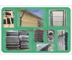 Drótfonat vadháló kerítés építés szögesdrót tüskéshuzal tábláskerítés kerítéselem kerítéspanel