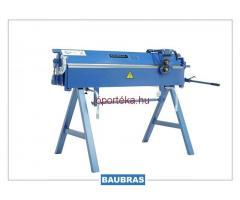 Élhajlító bádogos gép 1400/2 mm + tárcsás lemezolló
