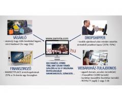 Munka online és offline egész Európából lehetséges!