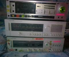 Videoton erősitő+ videoton rádió+ pioneer magnó deck
