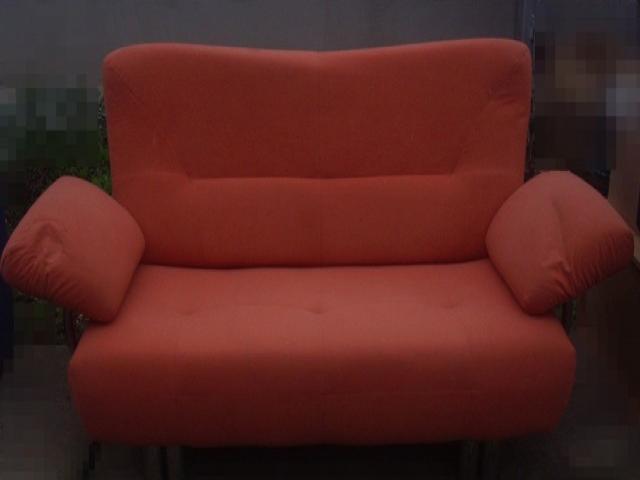 Narancssárga kanapé eladó