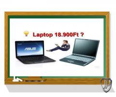 Iskolakezdési használt laptop akció