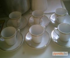 Hóllóházi kávés csésze készlet